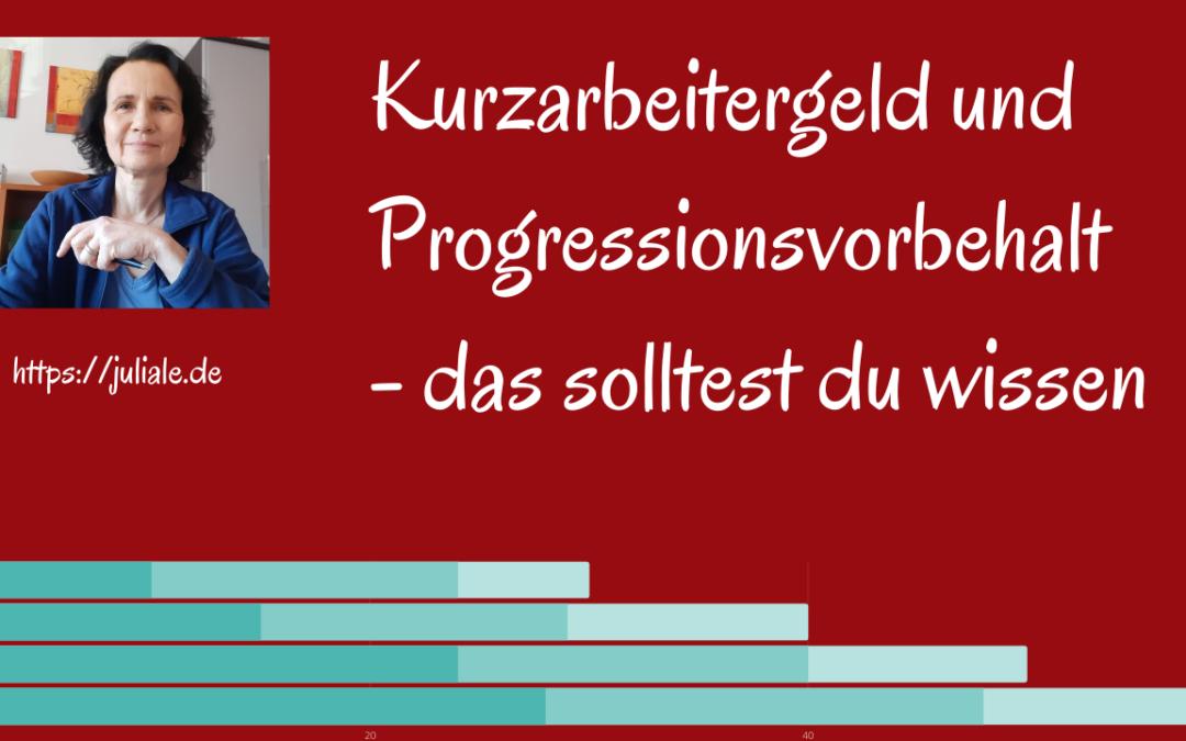 Progressionsvorbehalt