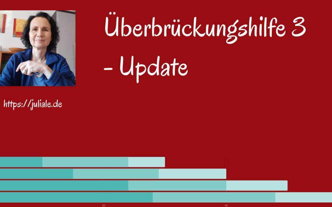 überbrückungshilfe 3 update